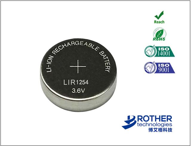 LIR1254-55mAh
